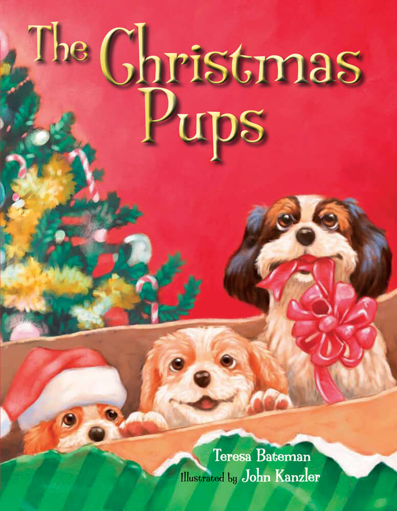 Christmas Puppies.The Christmas Pups Hardcover