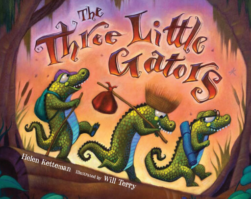 Image result for the three little gators