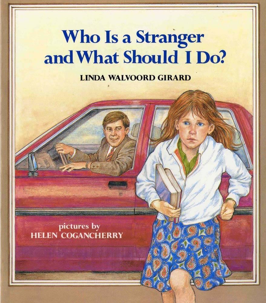 Book stranger danger vintage