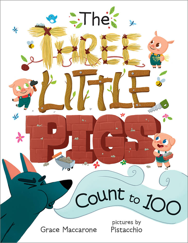 The Three Little Pigs Count to 100  Albert Whitman  Company