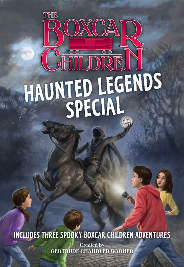 The Haunted Legends Special Boxcar Children