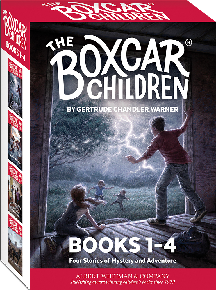 Best Home Libraries: The Boxcar Children Mysteries Boxed Set #1-4